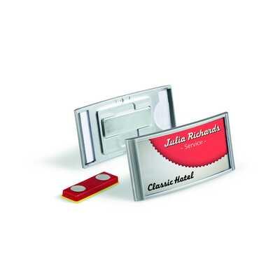 CLASSIC, identyfikator z magnesem 30 x 65 mm