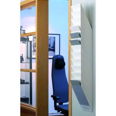 FLEXIBOXX A4 12 pionowych pojemników na dokumenty, kolor biały DURABLE