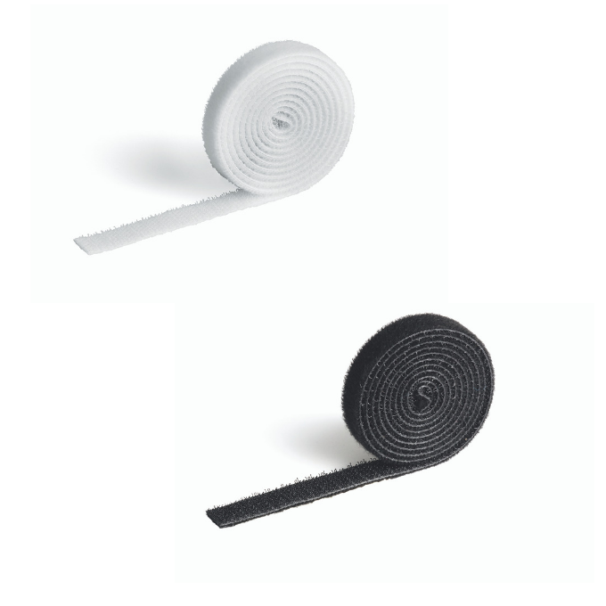 Taśma rzep do spinania kabli CAVOLINE GRIP 10 DURABLE, 1 m x 10 mm