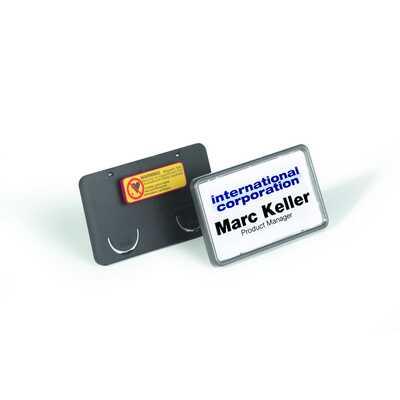 Identyfikator 40x75 mm z magnesem