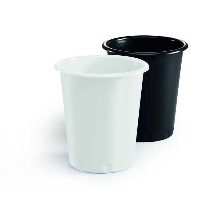 Kosz na śmieci 13 l, biały BASIC DURABLE