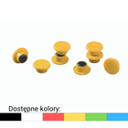Magnesy do tablic DURABLE Ø 15 mm, 20 sztuk