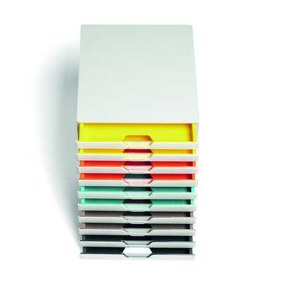 Pojemnik z dziesięcioma szufladami VARICOLOR MIX 10 DURABLE
