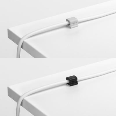 Samoprzylepne klipsy na kable CAVOLINE CLIP PRO DURABLE, 6 sztuk