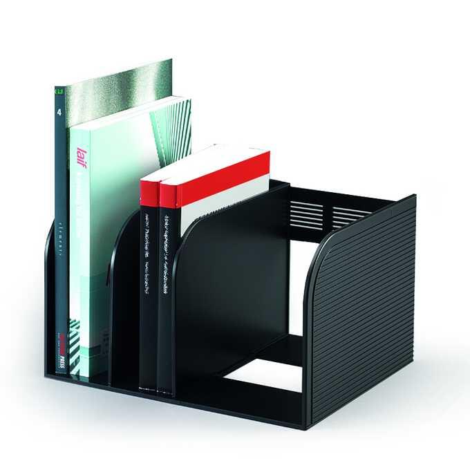 Stojak na dokumenty,katalogi,z regulacją, OPTIMO DURABLE antracytowy