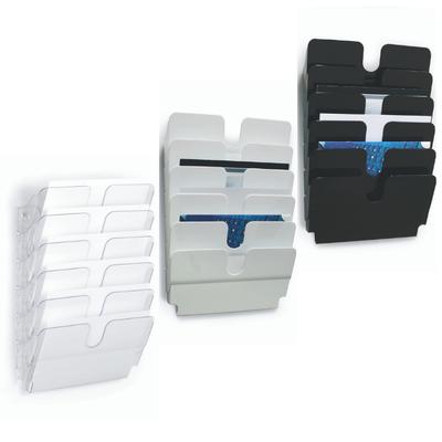 Zestaw 6 poziomych pojemników na dokumenty FLEXIPLUS A4 DURABLE