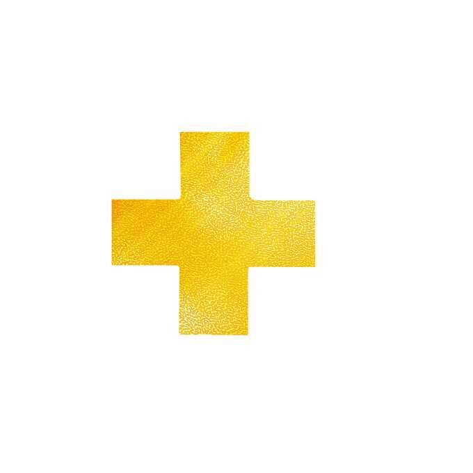 Znak podłogowy DURABLE kształt krzyża