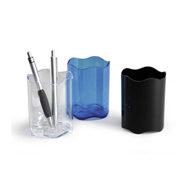 Pojemnik na długopisy TREND DURABLE niebieski