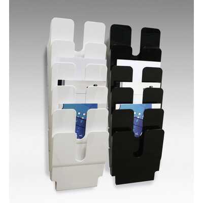 Zestaw 6 pionowych pojemników na dokumenty FLEXIPLUS A4 DURABLE