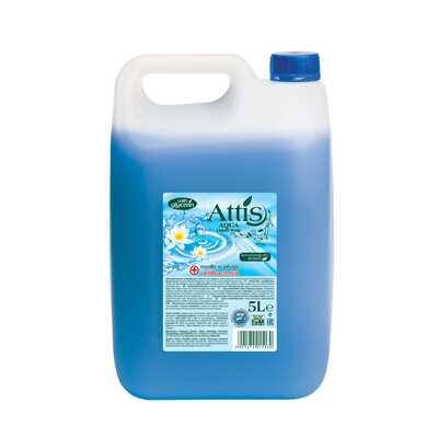 Antybakteryjne mydło w płynie ATTIS GOLD DROP, 5l, niebieskie