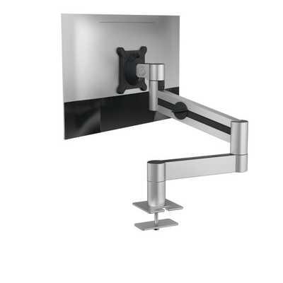 Uchwyt stołowy DURABLE z ramieniem do jednego monitora, montaż w otworze blatu