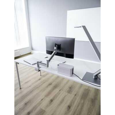 Uchwyt stołowy DURABLE z ramieniem do jednego monitora, z zaciskiem biurkowym