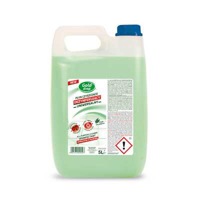 Uniwersalny płyn czyszcząco-dezynfekujący GOLD DROP, 5l