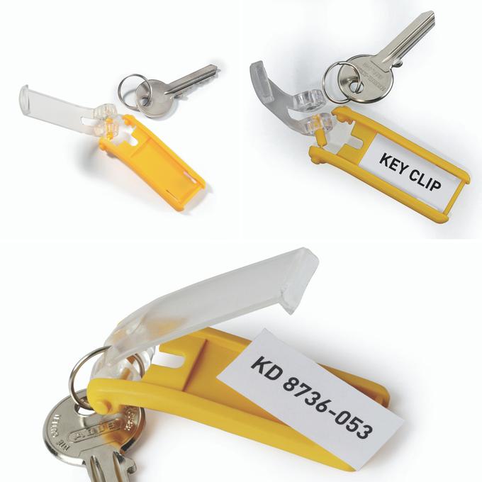 Zawieszki do kluczy KEY CLIP