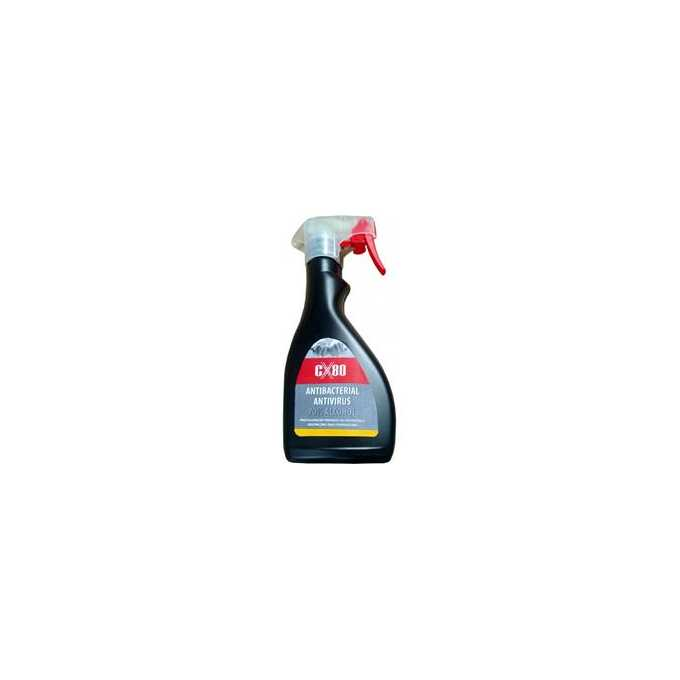 CX80 ANTIBACTERIAL ANTIVIRUS SPRAY 600ML