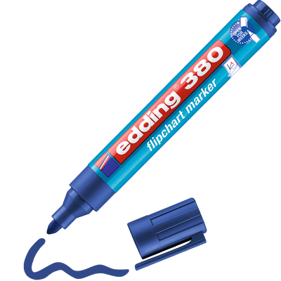 Marker do flipchartów Edding 380 Niebieski