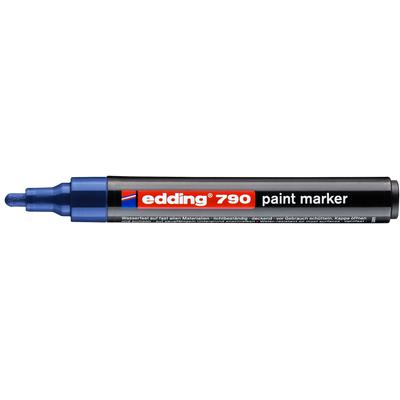 Marker olejowy Edding 790 niebieski