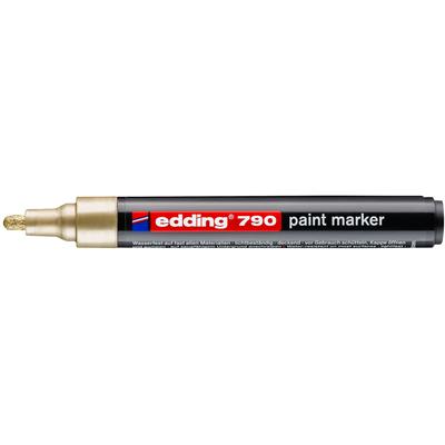 Marker olejowy Edding 790 złoty