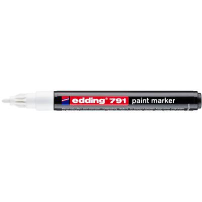 Marker olejowy Edding 791 biały 1-2 mm