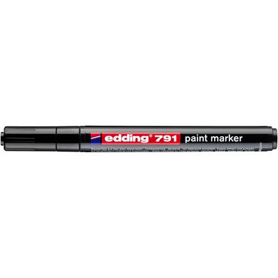 Marker olejowy Edding 791 czarny 1-2 mm
