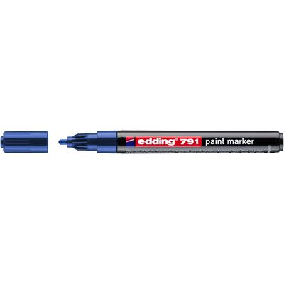 Marker olejowy Edding 791 niebieski 1-2 mm