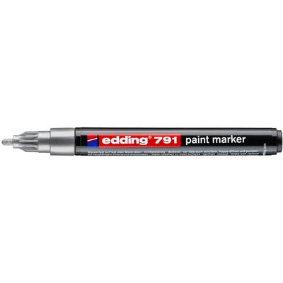 Marker olejowy Edding 791 srebrny 1-2 mm