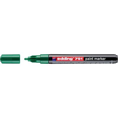 Marker olejowy Edding 791 zielony 1-2 mm