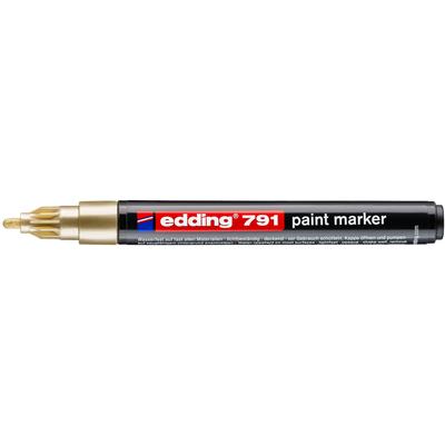 Marker olejowy Edding 791 złoty 1-2 mm