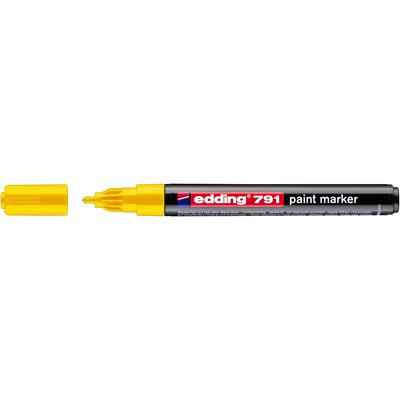 Marker olejowy Edding 791 żółty 1-2 mm