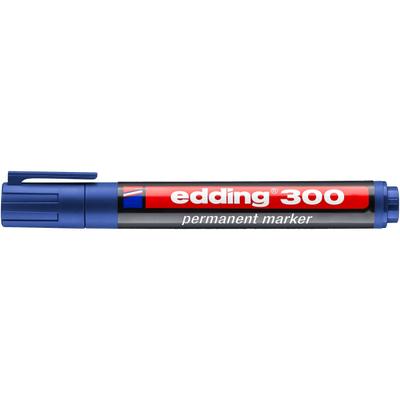 Marker pernamentny Edding 300 okr. koń. niebieski