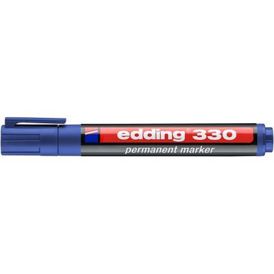 Marker pernamentny Edding 330 ścię. koń. niebieski