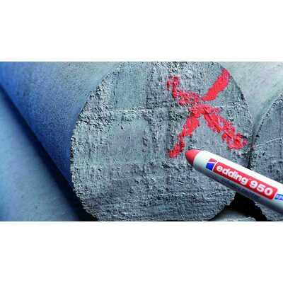 Marker przemysłowy - pasta Edding 950 Czerwony