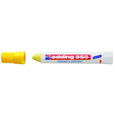 Marker przemysłowy - pasta Edding 950 Żółty