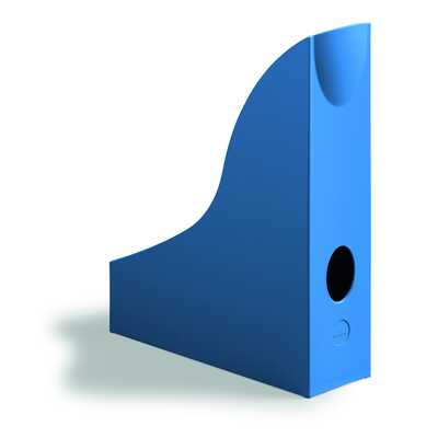 Pojemnik na katalogi A4 niebieski